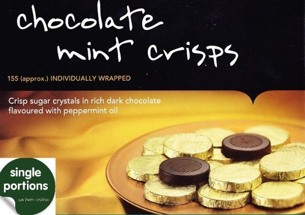 Chocolate Mint Crisps - Individuals